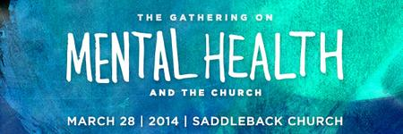 Gathering on Mental Health Saddleback Church